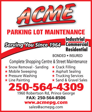Acme Snow Removal